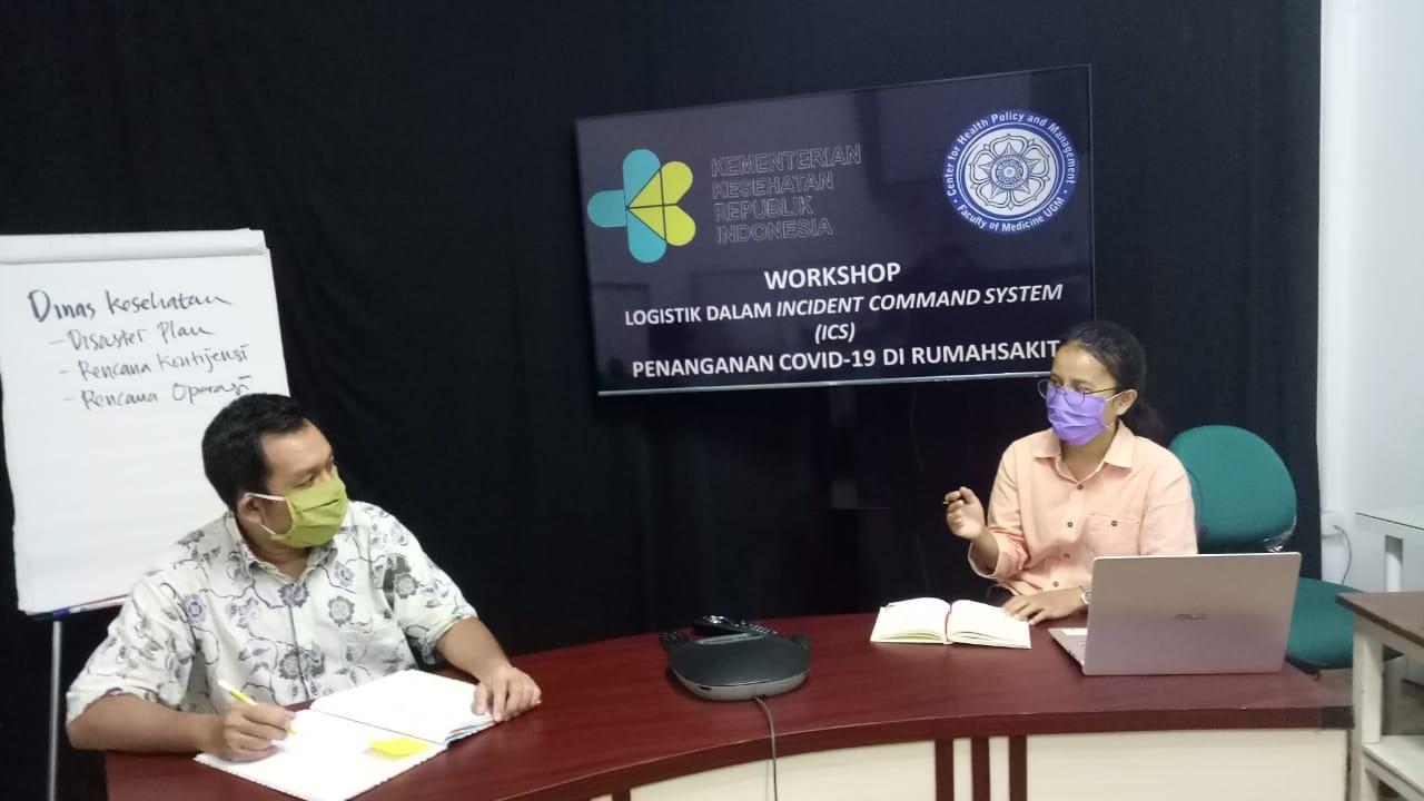 Laporan Free Online Workshop  ANGKATAN III Logistik Dalam Incident Command System (ICS)  Penanganan Covid-19 Di Rumah Sakit