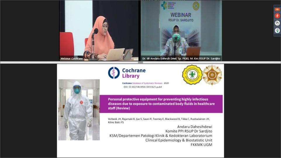 Webinar dan Livestreaming Terapi Farmakologi dan Penggunan APD dalam Penanganan COVID-19 23 & 24  April 2020