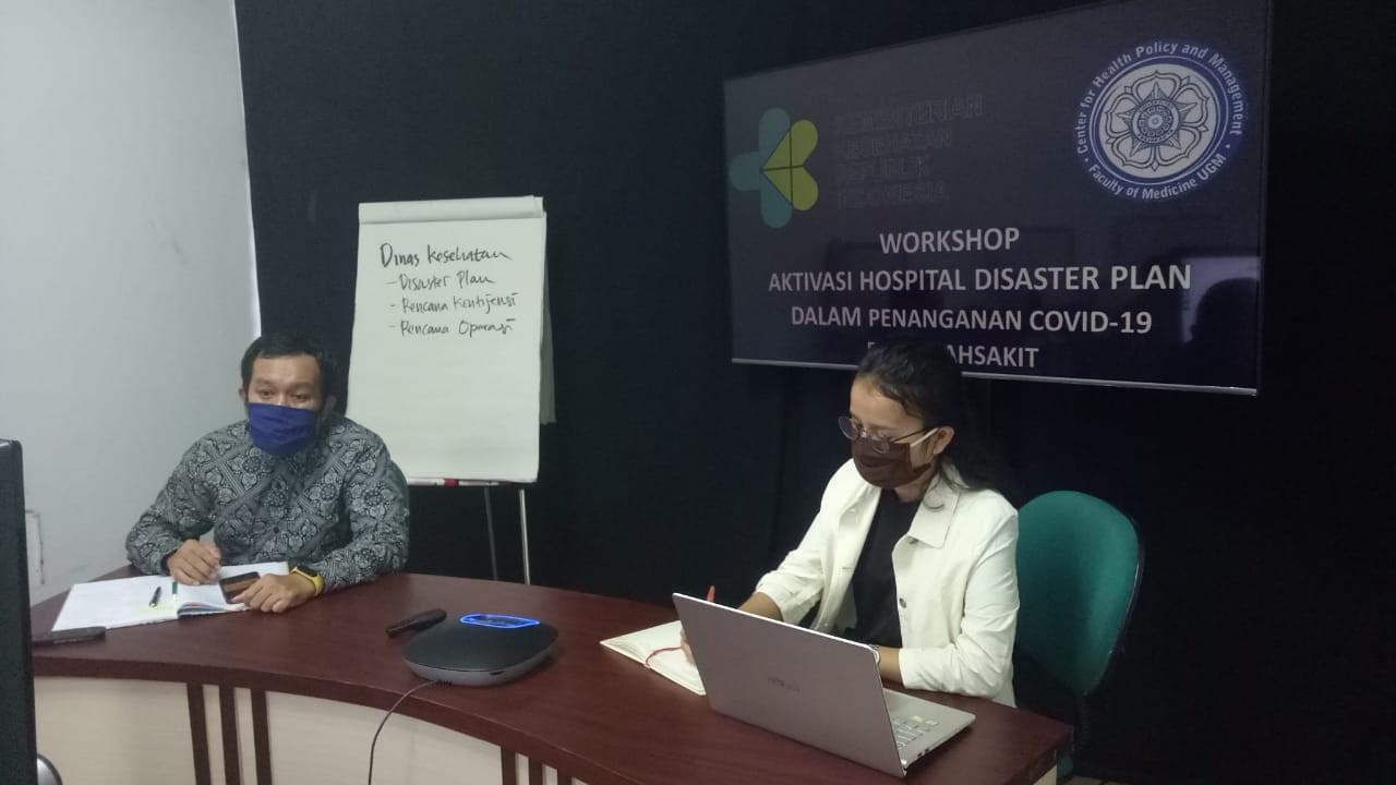 Workshop Online  Angkatan IV Komunikasi Dalam Incident Command System (ICS) Penanganan Covid-19 Di Rumah Sakit